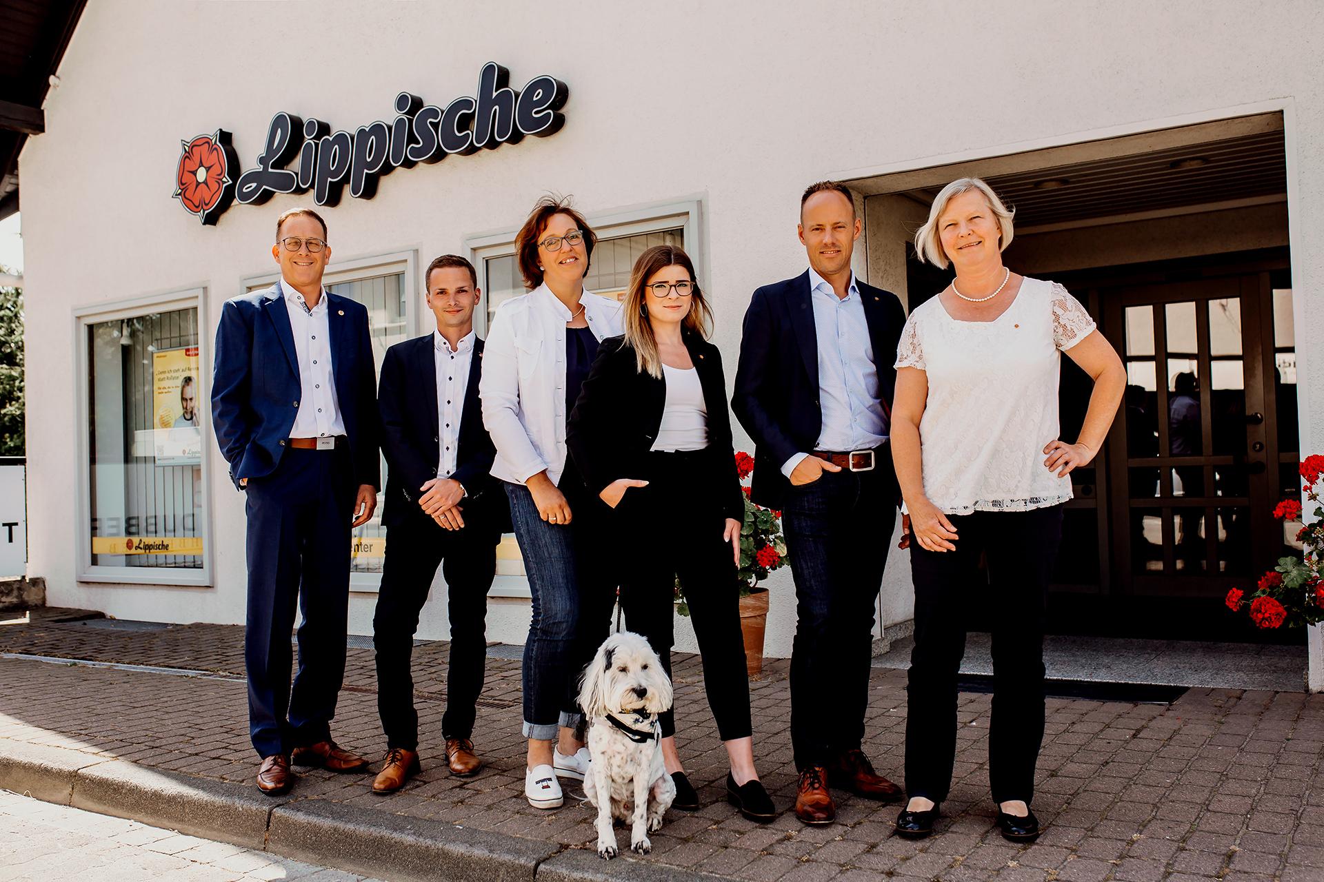 Das Team Lippische ServiceCenter Bösingfeld